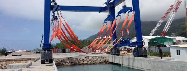 New 150t Marine Travel Lift in Seychelles