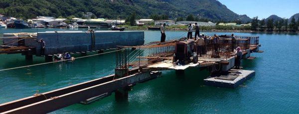 Construction of New Boatyard in Seychelles