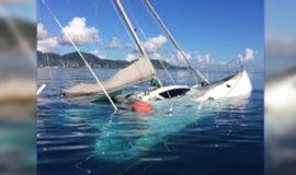 Salvage of Pioneer Catamaran 38ft